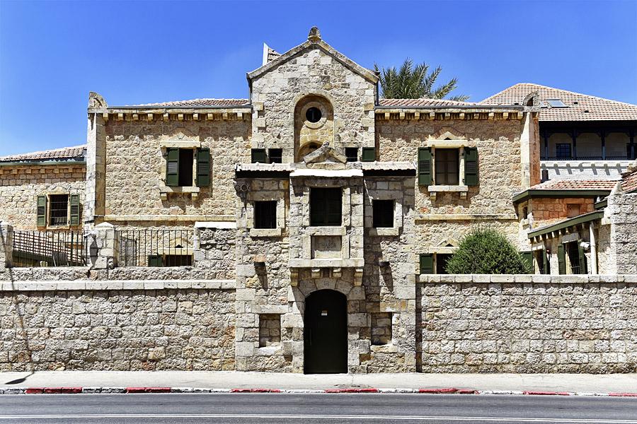 Tabor Haus in Jerusalem.