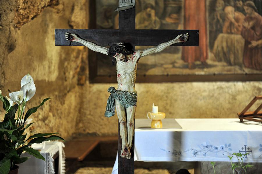 Jesus-Skulptur