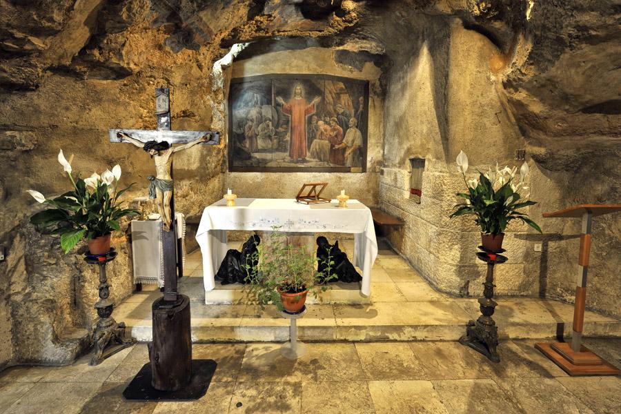 Verratsgrotte Jesu Jerusalem