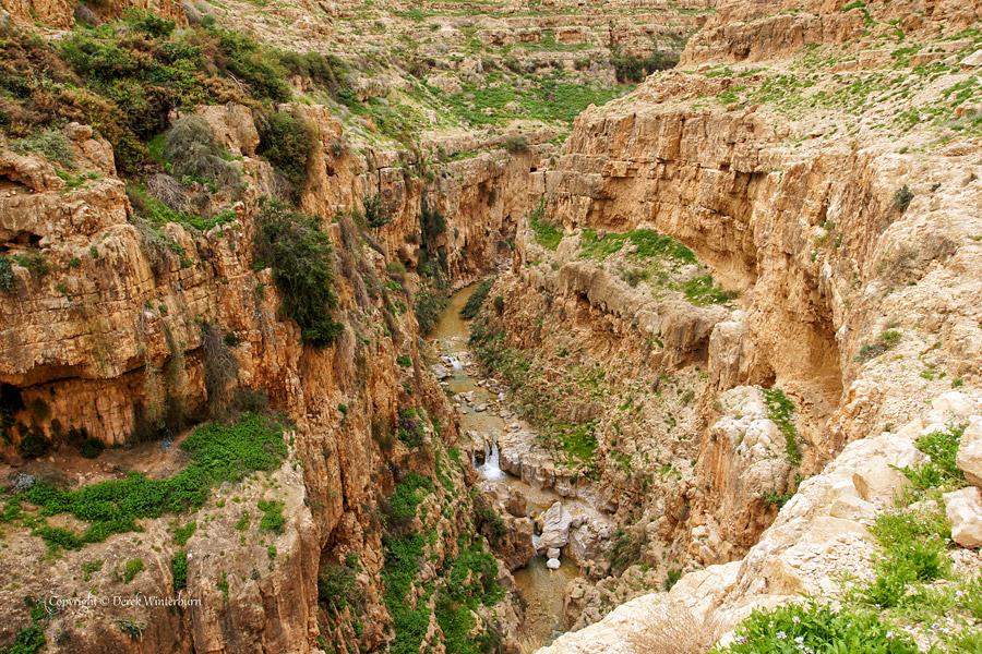Wadi Qelt bei Jericho