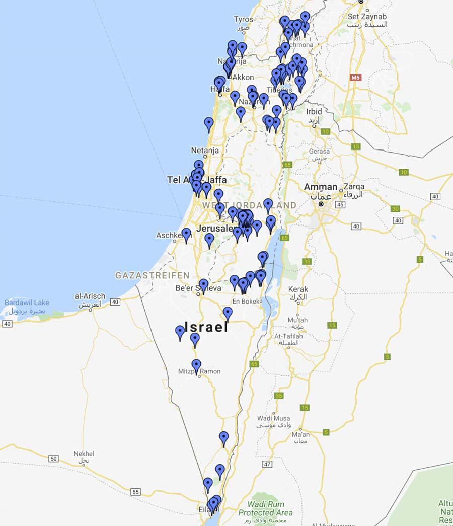 Israel Sehenswürdigkeiten