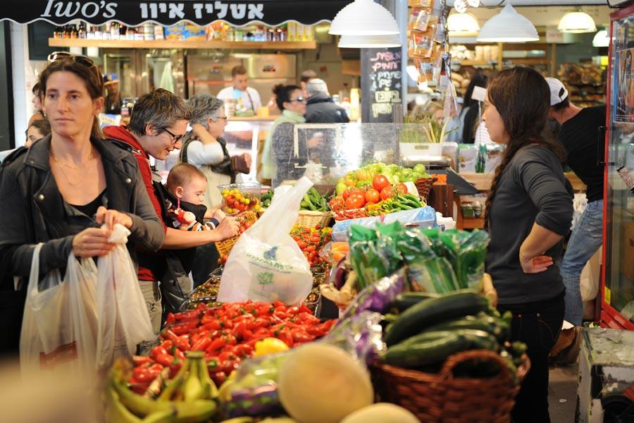 Tel Aviv Farmers Market Hangar