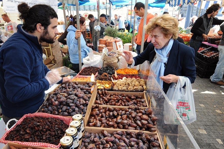 Farmers Market in Tel Aviv