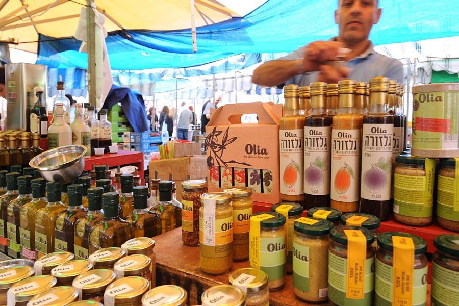 Regionale Produkte auf dem Farmers Market