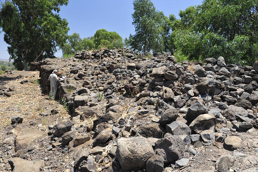 Stadtmauer von Bethsaida
